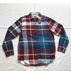 Tommy Bahama ACAI Flannel Plaid Shirt